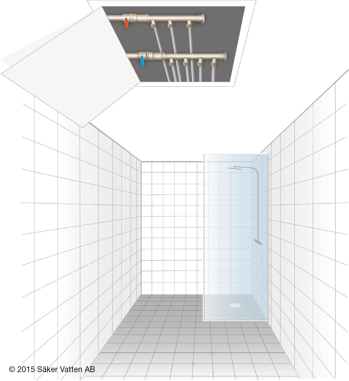 Tvättställ höjdöver golv Kakel till kök och badrum